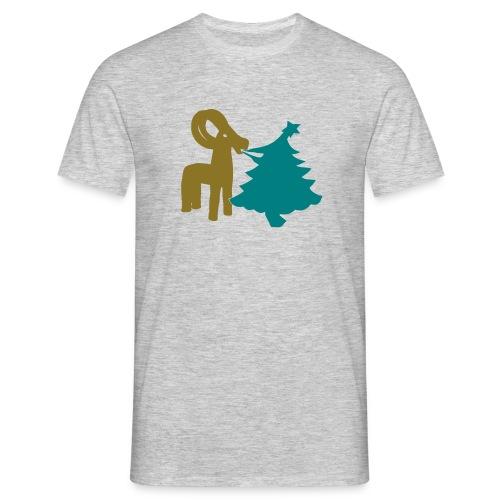 Julbock Mampf gro - Männer T-Shirt