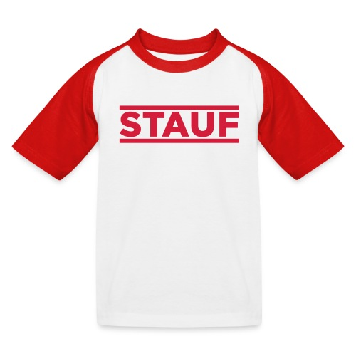 """STAUF"" Kids Shirt - Kinder Baseball T-Shirt"