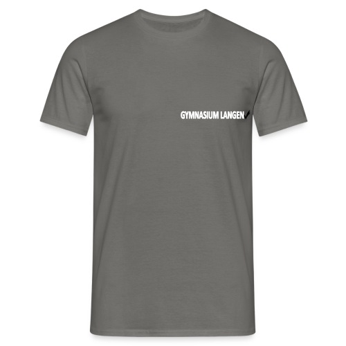 Herren Schul-T-Shirt - Männer T-Shirt