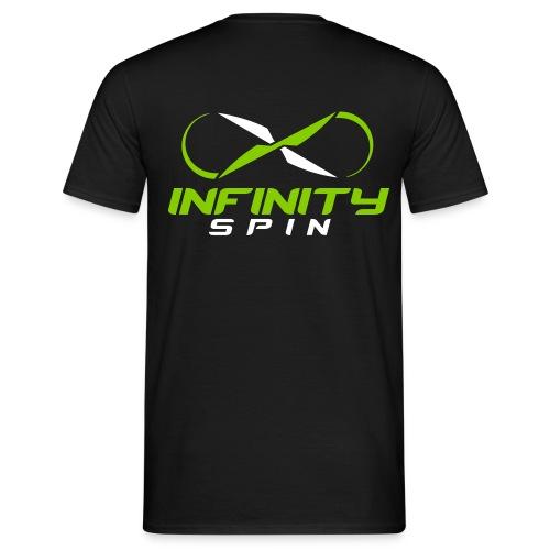 Infinity Spin Shirt - Logo hinten - Männer T-Shirt