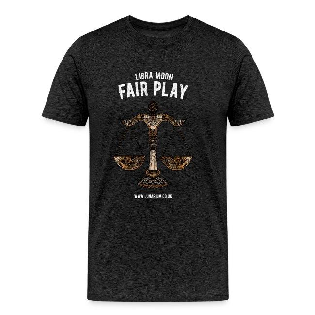 Libra Moon Men's Premium T-Shirt