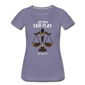 Libra Moon Women's Premium T-Shirt - Women's Premium T-Shirt