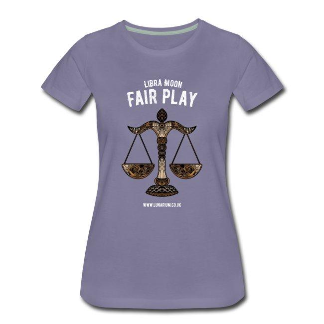 Libra Moon Women's Premium T-Shirt