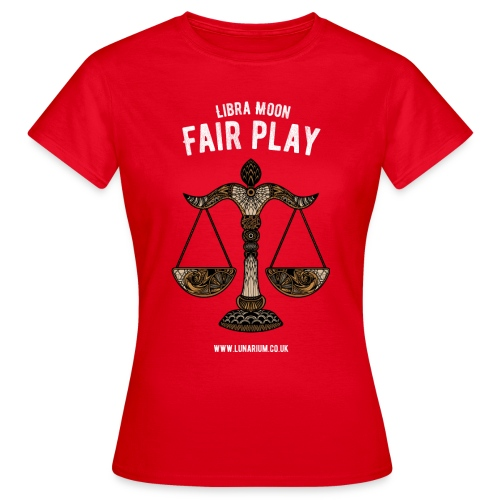 Libra Moon Women's T-Shirt - Women's T-Shirt