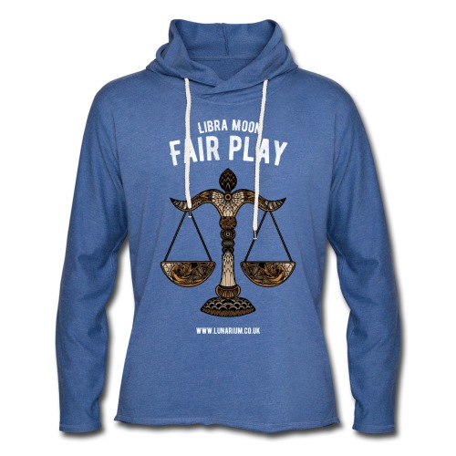 Libra Moon Light Unisex Sweatshirt Hoodie - Light Unisex Sweatshirt Hoodie