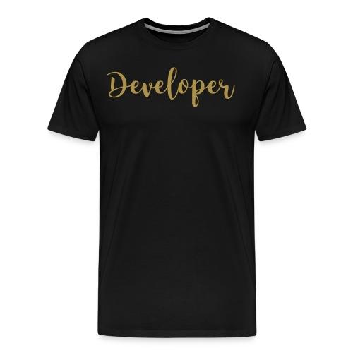 Developer (glitz) - Men's Premium T-Shirt