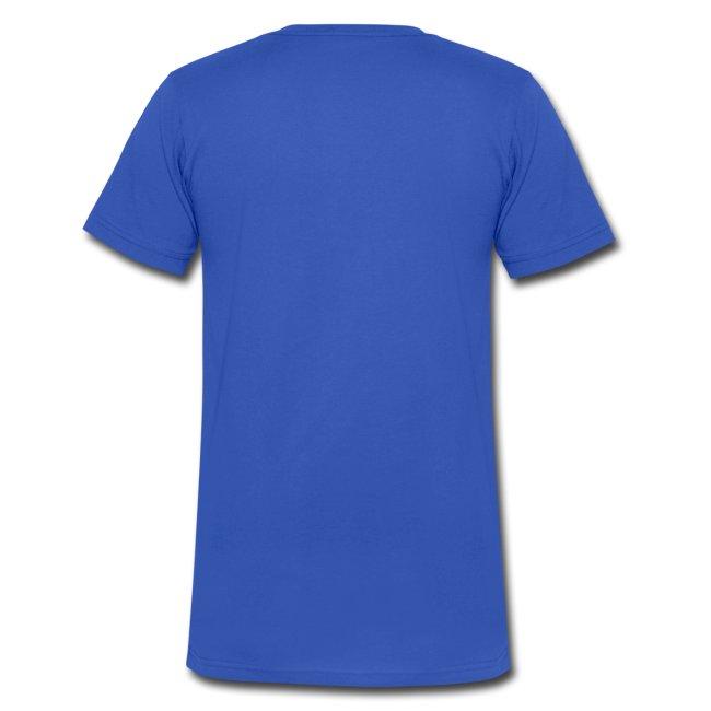 Libra Moon Men's V-Neck T-Shirt