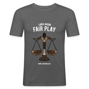 Libra Moon Men's Slim Fit T-Shirt - Men's Slim Fit T-Shirt