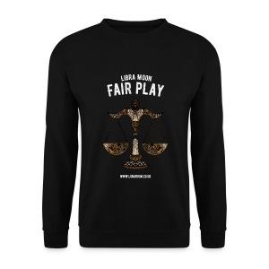 Libra Moon Men's Sweatshirt - Men's Sweatshirt