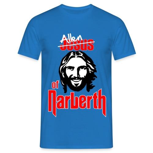 Allen of Narberth. Blue T-Shirt. - Men's T-Shirt