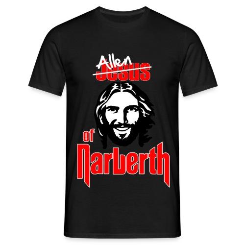 Allen of Narberth. Black T-Shirt. - Men's T-Shirt