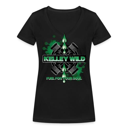 Ladys Fuel For Your Soul 2016 - Frauen Bio-T-Shirt mit V-Ausschnitt von Stanley & Stella
