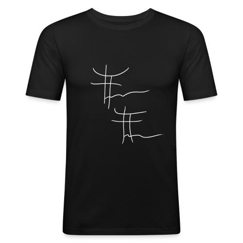 T-shirt Sport Sign - Black - T-shirt près du corps Homme