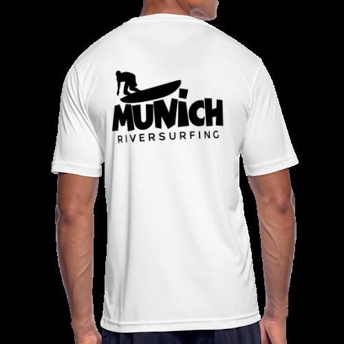 Munich Riversurfing Funktionsshirt - Männer T-Shirt atmungsaktiv