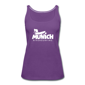 Munich Riversurfing Tank Top - Frauen Premium Tank Top
