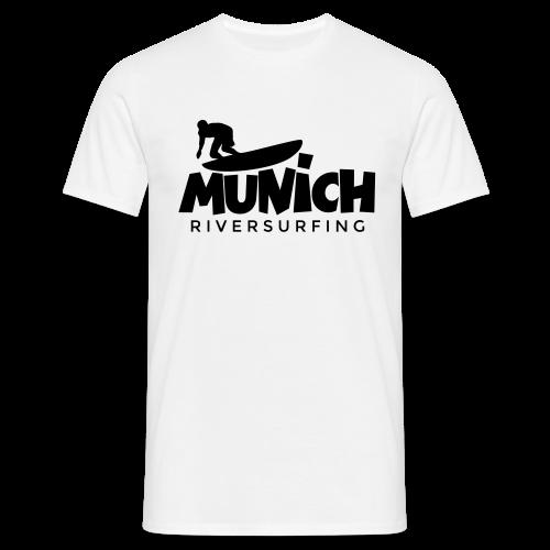 Munich Riversurfing T-Shirt - Männer T-Shirt
