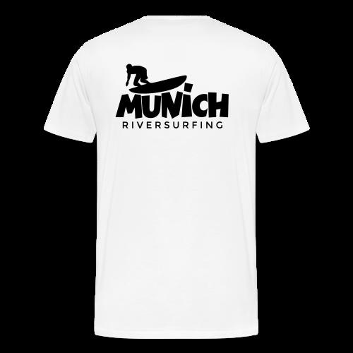 Munich Riversurfing S-5XL T-Shirt - Männer Premium T-Shirt