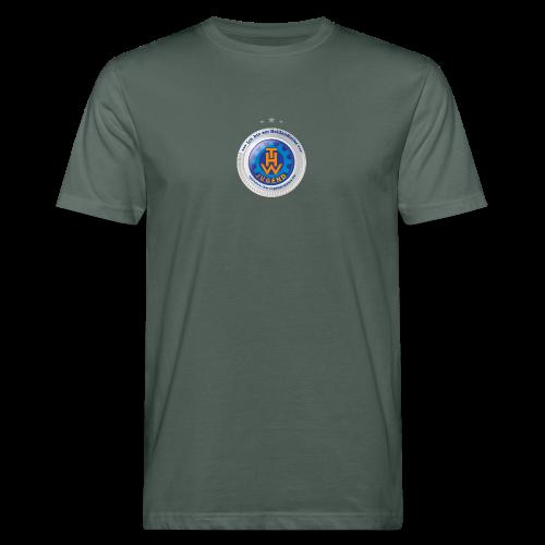 HeldenHelfer ThreeStar Herren mit €30 Zuwendung inklusive - Männer Bio-T-Shirt