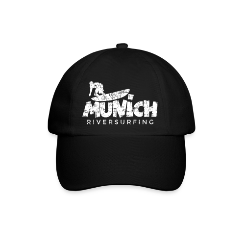 Munich Riversurfing (Vintage/Weiß) Baseballkappe - Baseballkappe