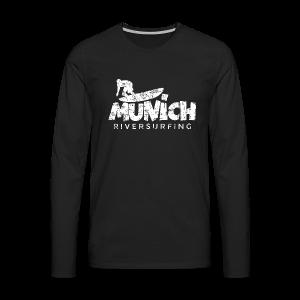 Munich Riversurfing München Surfer Vintage Weiß