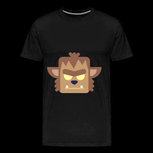Werewolf - Herre premium T-shirt - Herre premium T-shirt