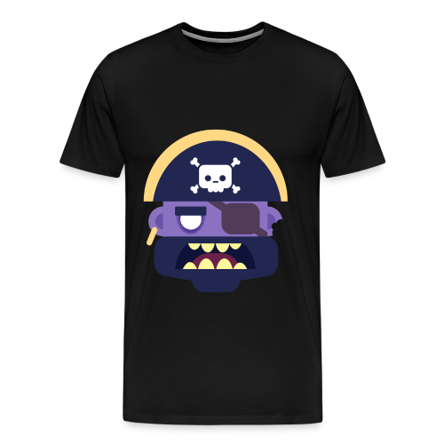Captain Zed - Herre premium T-shirt - Herre premium T-shirt