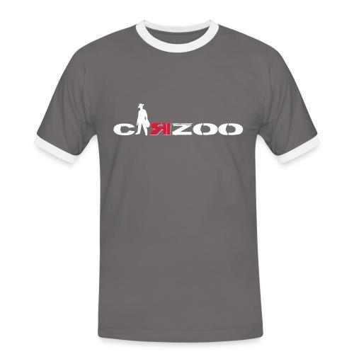 T-shirt contrasté Homme - CARZOO BI TON URBAIN