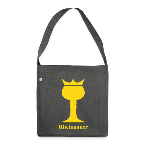 Rheingauer_Tasche - Schultertasche aus Recycling-Material
