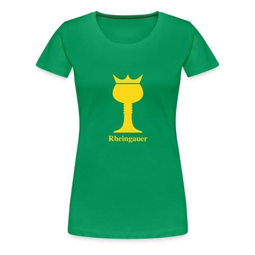Rheingauer_T-Shirt_Women - Frauen Premium T-Shirt