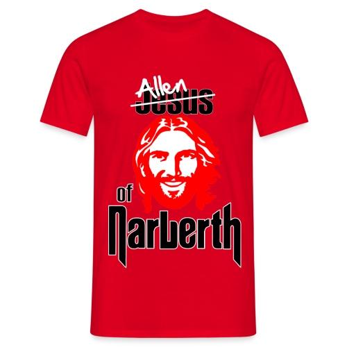 Allen of Narberth. Red T-Shirt - Men's T-Shirt