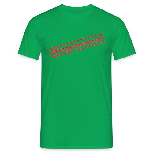 Mängelexemplar - Männer T-Shirt