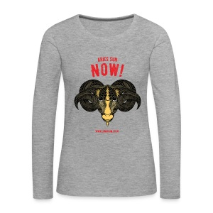 Aries Sun Women's Premium Longsleeve Shirt - Women's Premium Longsleeve Shirt