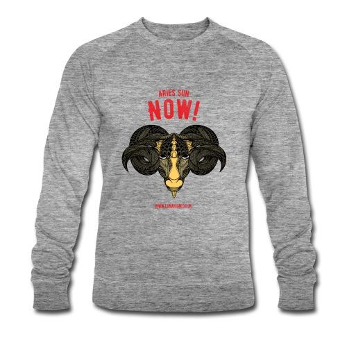Aries Sun Men's sweatshirt by Stanley & Stella  - Men's Organic Sweatshirt by Stanley & Stella