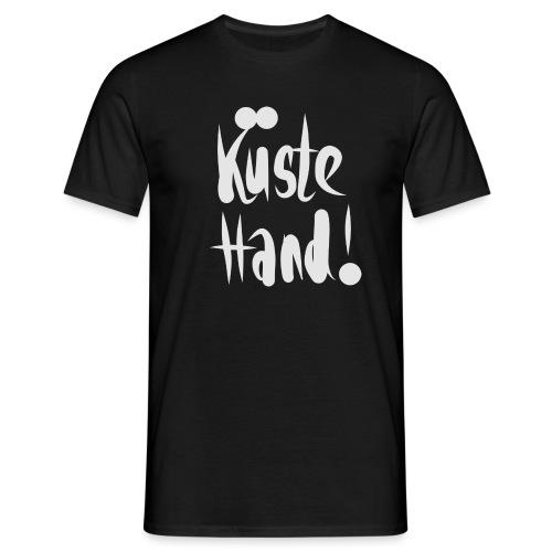 küste hand - Männer T-Shirt