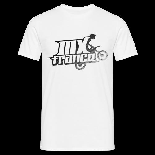 Logo Tilt Stripes - T-shirt Homme