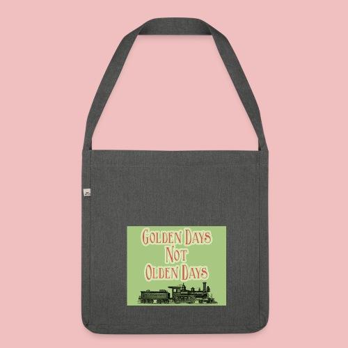 Golden Days - Shoulder Bag made from recycled material - Shoulder Bag made from recycled material