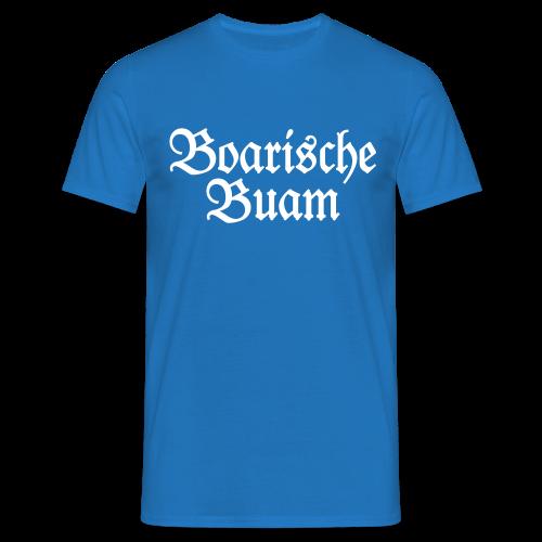 Boarische Buam Bayern T-Shirt - Männer T-Shirt