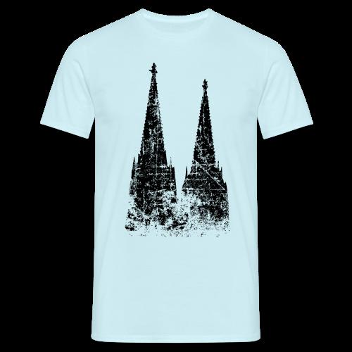 Kölner Dom (Vintage) Köln T-Shirt - Männer T-Shirt