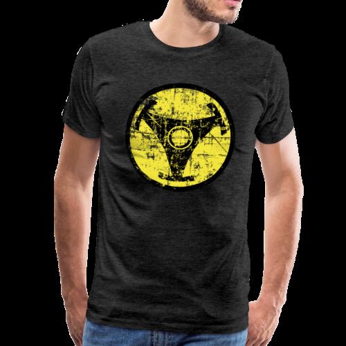 Atomic Vinyl Nuklear Vintage T-Shirt - Männer Premium T-Shirt