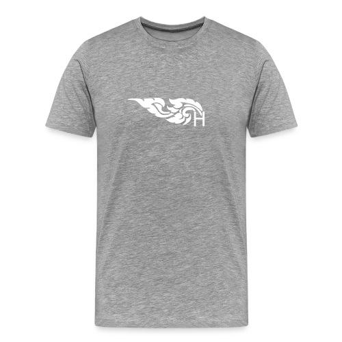 T-Shirt WHITE Logos - Men's Premium T-Shirt