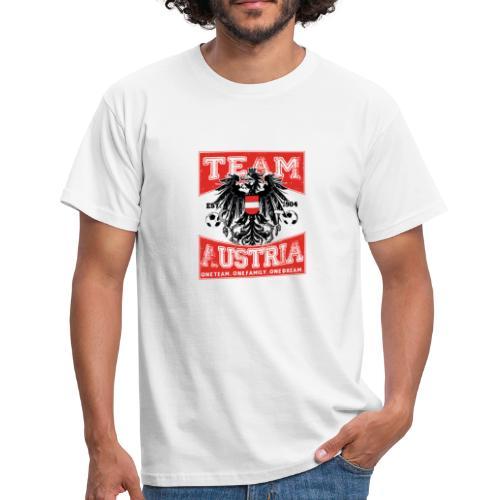 Team Austria - Adler (Männer T-Shirt) - Männer T-Shirt
