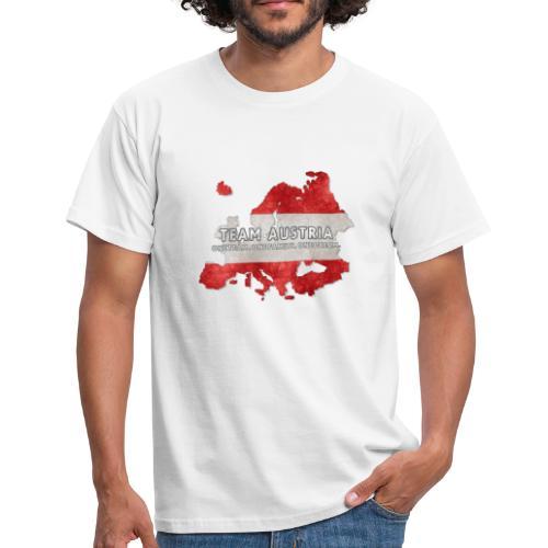 Team Austria - Österreich erobert Europa (Männer T-Shirt) - Männer T-Shirt