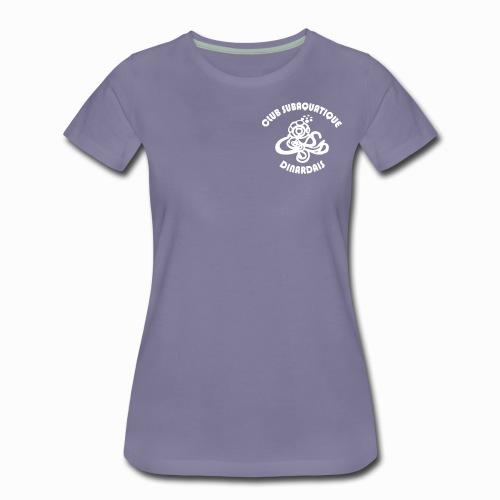 T-shirt Femme 2 visuels (devant/derrière) - T-shirt Premium Femme