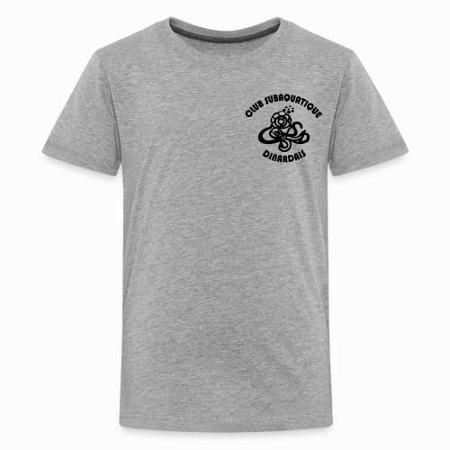 T-shirt unisexe Ado 2 visuels (devant/derrière) - T-shirt Premium Ado