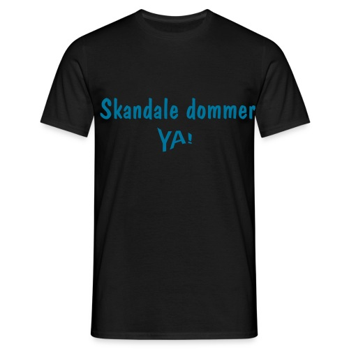 Skandale dommer! - Men's T-Shirt
