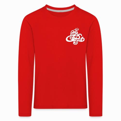 T-shirt unisexe Enfant manches longues 2 visuels (devant sans écriture/derrière) - T-shirt manches longues Premium Enfant