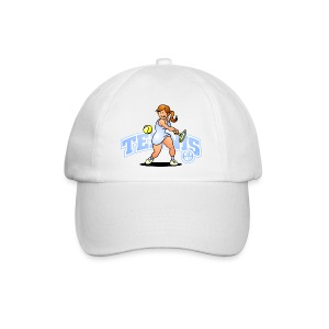 Tennis, Hit'm hard Caps & Hats - Baseballcap