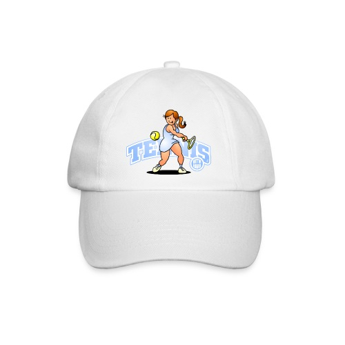 Tennis, Hit'm hard Caps & Hats - Baseball Cap