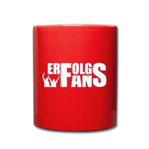 Tasse Erfolgsfans - Tasse einfarbig