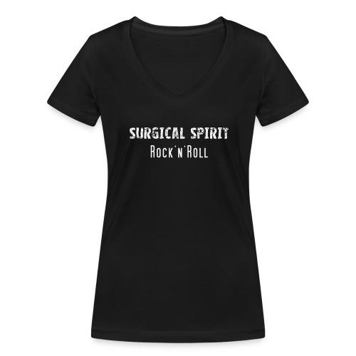 T-Shirt (Ladies) / Größe S / mit V-Ausschnitt - Frauen Bio-T-Shirt mit V-Ausschnitt von Stanley & Stella